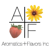 Aromatics + Flavors Inc. Sticky Logo